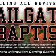 Tailgate Baptism